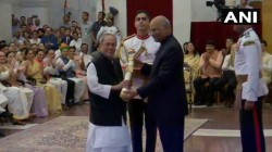 Former President Pranab Mukherjee And Others Awarded Bharat Ratna President Ram Nath Kovind