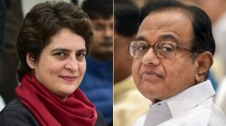 Priyanka Gandhi Stands For Chidambaram In Inx Media Case