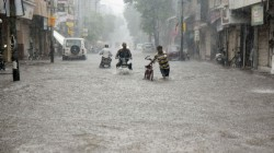 Vadodara City Pounded By Heavy Rains Yesterday Creating A Flood Like Situation