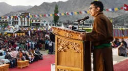 Congress Governments Ruined Kashmir Claimed Bjp Mp From Ladakh
