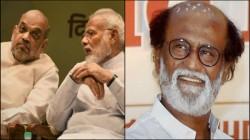 Narendra Modi And Amit Shah Are Like Krishna Arjun Says Rajinikant