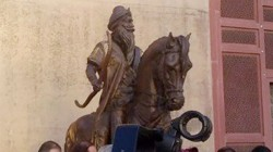 A Statue Of Maharaja Ranjit Singh Was Vandalised In Lahor
