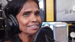 Internet Sensation Ranu Mondal Shoots Her Next Song With Himesh See Video