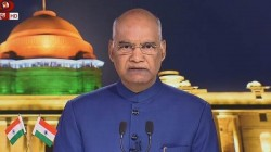 President Ramnath Kovind Addresses The Nation On The Eve Of The 73rd Independence Day