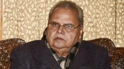 Jammu And Kashmir Governor Satyapal Malik Says Massive Recruitment Drive In Next 2 3 Months