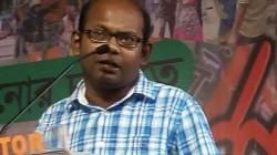 Bjp Leader Sayantam Basu Criticises Tmc On Didike Balo Programme