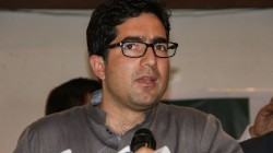 Shah Faesal Was Detained At The Delhi Airport