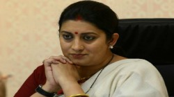 You Left Without Fulfilling Your Promise Minister Smriti Irani Reax On Demise Of Sushma Swaraj