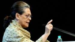 Congress Announces Sonia Gandhi Is The Interim President Of Party