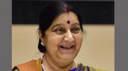Sushma Swaraj Helps Bengal Dramatist Through The Elite Corridors Of Diplomacy Of Her Ministry
