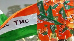 Tmc Is Accused To Beat A Booth President Of Bjp In West Midnapur