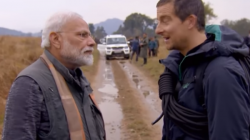 Pm Narendra Modi S Man Vs Wild Becomes Most Trending Event Says Grylls