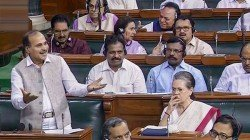 Adhir Chowdhury Does Boomerang On Kashmir Issue In Parliament
