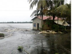 Pregnant Woman Rescued In Flood Hit Palakkad District S In Kerala