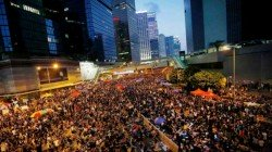 Hong Kong Airport Cancels All Departures As Protesters Enters