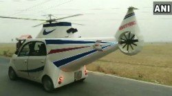 Mithilesh Prasad From Chhapra In Bihar Turned His Tata Nano Into A Helicopter