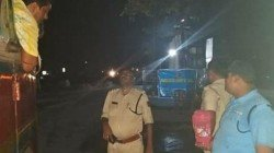 To Stop Accident Midnapore Police Took A Wise Step For Drivers