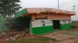 Explosion In Tmc Panchayat Pradhans House In Sadaipur In Birbhum