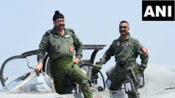 Wing Commander Abhinandan Varthaman Flew Mig 21 Again With Iaf Chif Bs Dhanoa