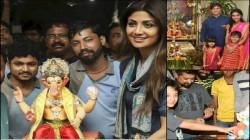 Ganesh Chaturthi 2019 Shilpa Shetty To Vivek Oberoi Welcomed Lord Ganesha