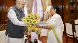 Mamata Meets Amit Shah Speaks On Border Area And Chicken S Nake Security