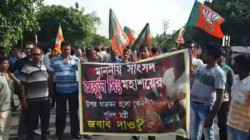 Clash Between Tmc And Bjp In Barrackpur Over Bandh Called By Safron Party