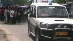 National Highway Blocked In Protest Of Balurghat