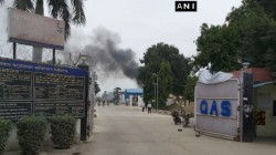 Explosion At Hindustan Petroleum Plant In Unnao