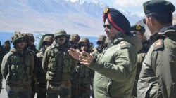 After India China Standoff Northan Command Cheif Visits Ladakh