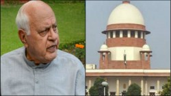 Supreme Court Has Issued A Notice To The Centre On Farooq Abdullah
