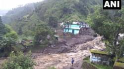 Flash Flood Floats Three Houses Of Uttarkhand Due To Cloud Blast Rain
