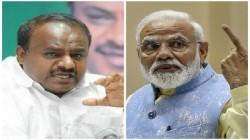 Modi S Visit To Isro Is Bad Omen Says Hd Kumaraswamy