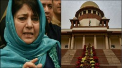 Mehbooba Mufti S Daughter Will Be Allowed To Meet Her In Kashmir Ordered Sc