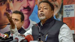 State Minister Chandrima Bhattacharya Files A Fir Against Mukul Roy In Bhatpara Police Station