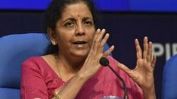 Nirmala Sitharaman Refuses To Comment On The Economic Slowdown