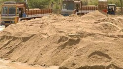 Illegal Sand Mining In Bankura Seized By Local Police