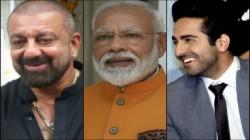 Narendra Modi Birthday Ayushmann Khurrana Ajay Devgn Sanjay Dutt And Others Wish Pm