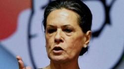 Sonia Gandhi Said Bjp Of Misusing The Mandate It Received