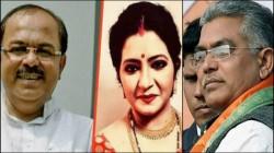 Baishakhi Banerjee Says Tmc Far Better From Bjp Seems Sovan Chatterjee