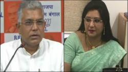 Bjp State President Dilip Ghosh Says Baishakhi Banerjee Is New Bride In Bjp