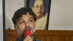 Gumnami Controversy Hightens Srijit Mukherjee Reaches To Forward Block Office
