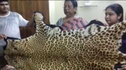 Jalpaiguri Businessman Hands Over Leopard Skin To Administration