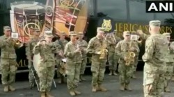 Us Army Playing Jana Gana Mana Song In Video Will Give You Goosebumps