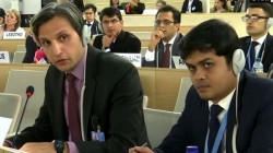 Unhrc India S J K Diplomat Rebutts Pakistan On Fabricated Nrrative