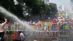 Protest Against Cesc Electricity Tariff Hike By Bjp In Kolkata