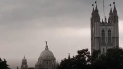 The Rain Is Floated West Bengal On The Season Of Durga Puja Festival