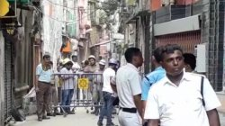 Political Blame Game Starts In Bowbazar Over Broken Down Of Houses Due To Metro Work
