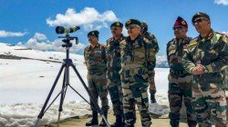 Chinese Troops Intrudes Into Arunachal Pradesh Construct Wooden Bridge