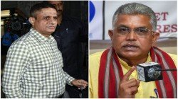 Dilip Ghosh Threatens To Rajeev Kumar On His Arrest Issue