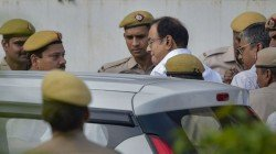 I M Only Worried About The Economy Says Chidambaram Before Going To Tihar Jail